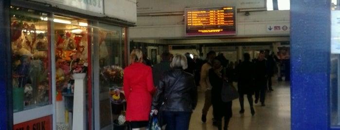 Barking London Underground and London Overground Station is one of Tube Challenge.