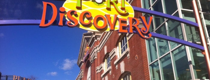 Port Discovery Children's Museum is one of Family trips.