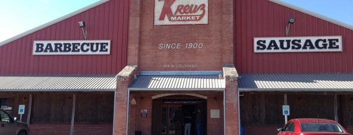 Kreuz Market is one of Favorite Restaurants.