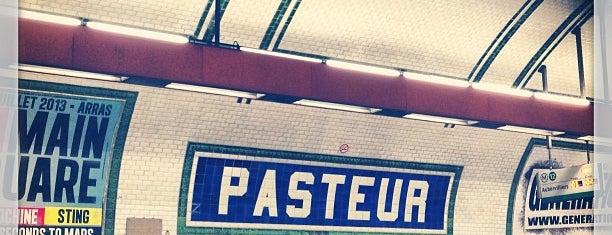Métro Pasteur [6,12] is one of Loisirs.