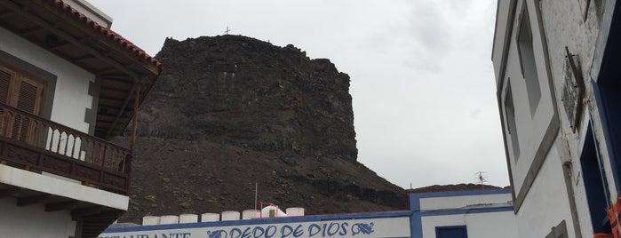 Dedo de Dios is one of Gran Canaria.