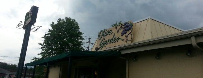 Olive Garden is one of burrs.