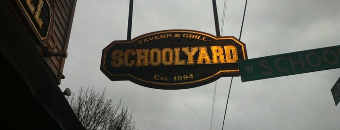 Schoolyard Tavern & Grill is one of Tasty.