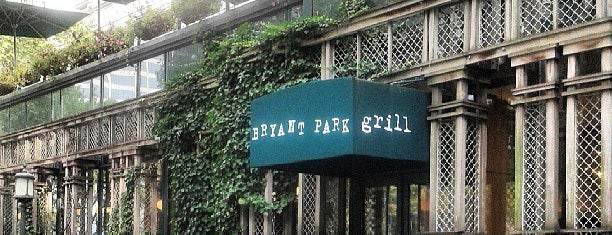 Bryant Park Grill is one of Be a Foodie!.