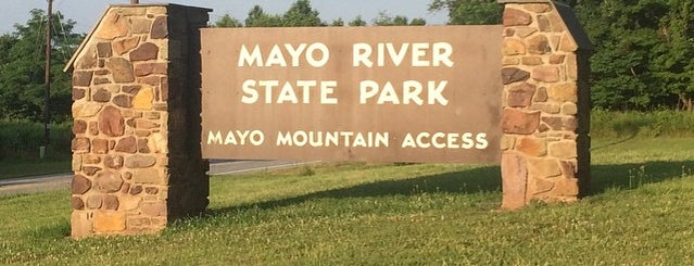 Mayo River State Park is one of North Carolina.