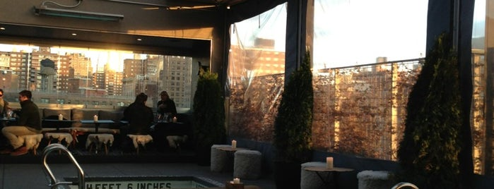 La Piscine at Hôtel Americano is one of NYC Rooftops.