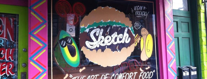 Sketch Burger is one of Local stuff to do.