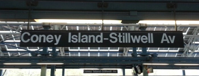 MTA Subway - Coney Island/Stillwell Ave (D/F/N/Q) is one of MTA Subway - F Line.