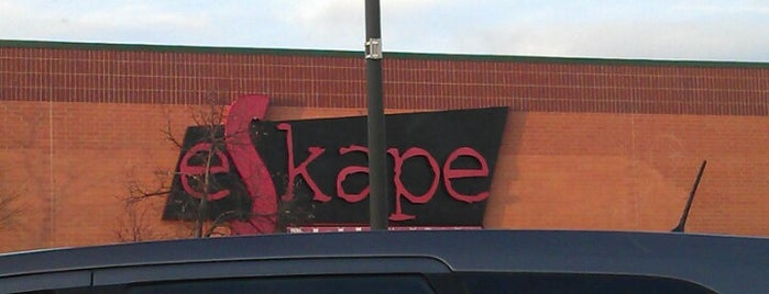 eSkape Entertainment Center is one of Official Blackhawks Bars.