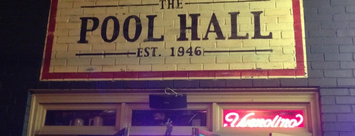 The Pool Hall is one of Top 10 dinner spots in Atlanta, GA.