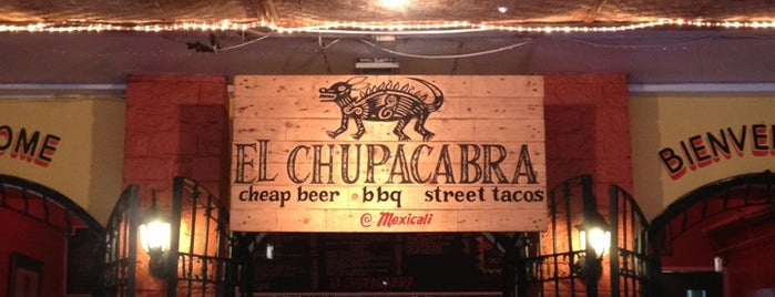 El Chupacabra is one of Restaurants.