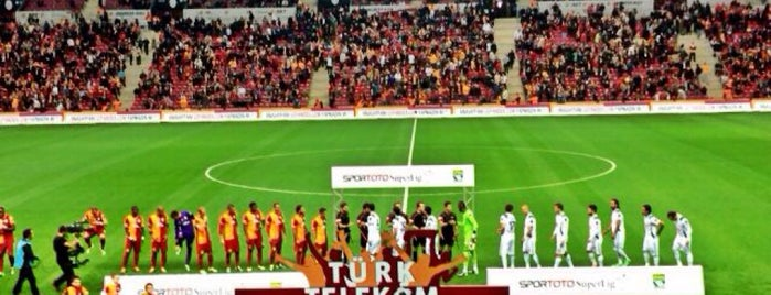 Türk Telekom Arena is one of PIRLANTA.