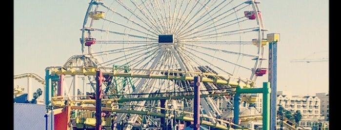 Santa Monica Pier Carousel is one of Fun LA.