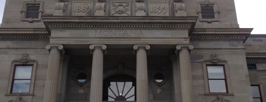 Montana State Capitol Building is one of The Crowe Footsteps.