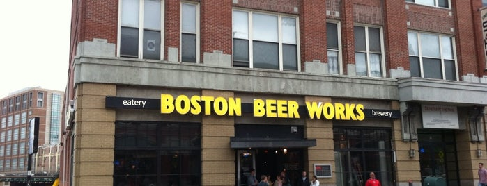 Boston Beer Works is one of Brewpubs - New England.