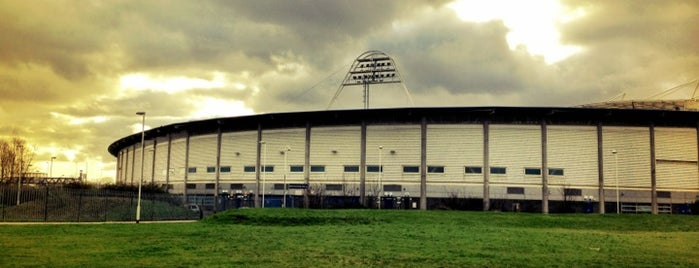 KC Stadium is one of Football grounds visited.