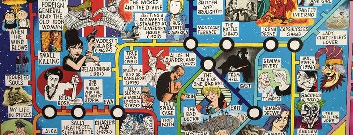 The Cartoon Museum is one of Best Comics Bookshops.