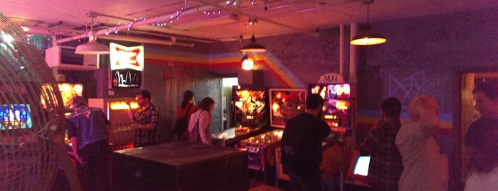Add-a-Ball Arcade is one of Video Game & Gamer Bars.