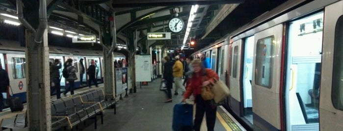 Edgware Road London Underground Station (Bakerloo line) is one of Zone 1 Tube Challenge.