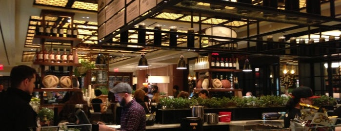 Todd English Food Hall is one of trang recommends . NYC.