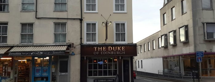 The Duke of Edinburgh is one of Pubs of Oxford.