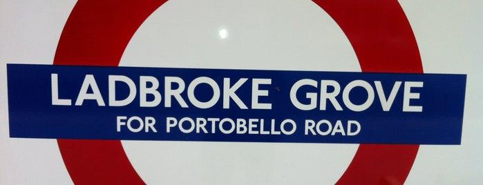 Ladbroke Grove London Underground Station is one of Tube Challenge.