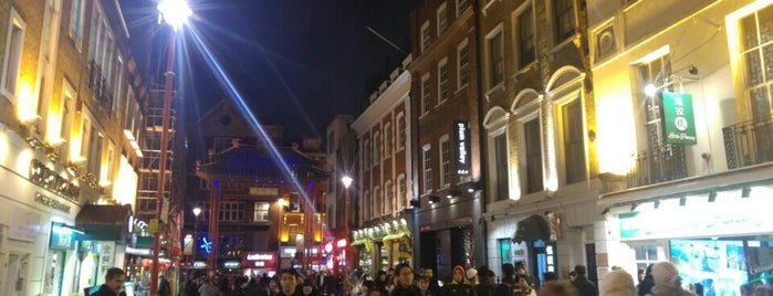 Chinatown is one of London City Badge - London Calling.