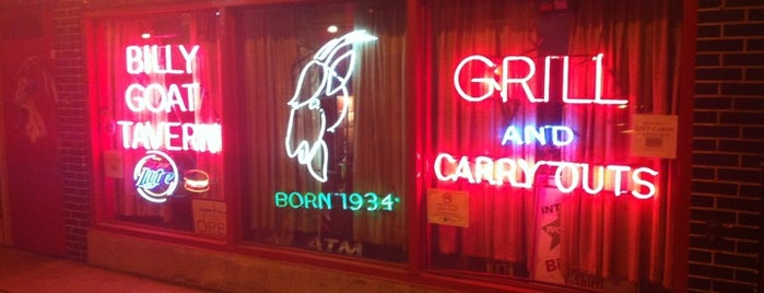 Billy Goat Tavern is one of Traveling Chicago.