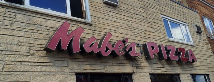 Mabe's Pizza is one of Best of Decorah, IA.