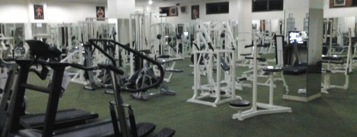 Mygym is one of Places2.