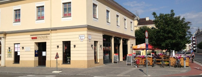Wiener Neustadt Hauptbahnhof is one of Christoffer's tips.