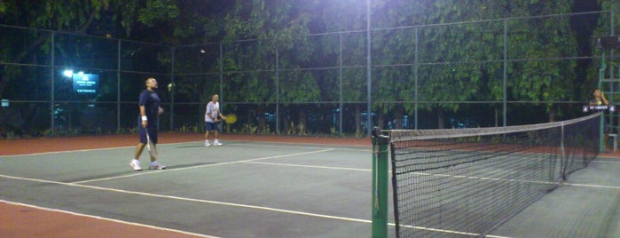 MPR/DPR Tennis court is one of Ace Badge (Tennis Court) in Jakarta Indonesia.
