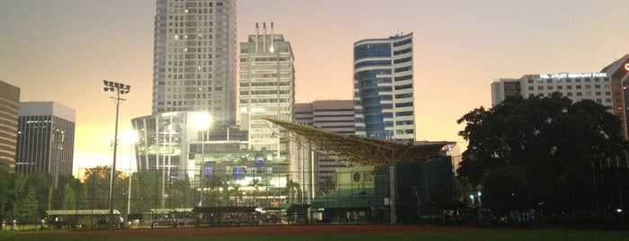 Lapangan Baseball & Softball Senayan is one of Enjoy Jakarta 2012 #4sqCities.