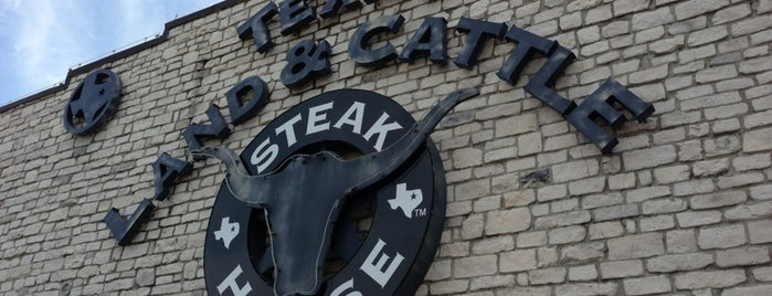 Texas Land & Cattle Steak House is one of Top 10 places to try this season.