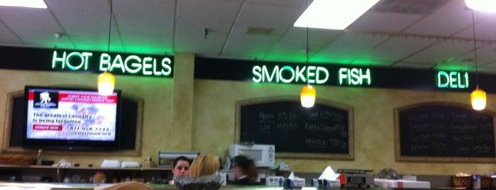 Bernie's Bagels is one of restaurants.