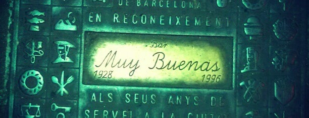 Muy Buenas is one of BCNRestaurants.