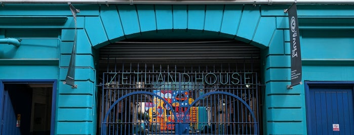 Zetland House is one of Silicon Roundabout / Tech City London (Open List).
