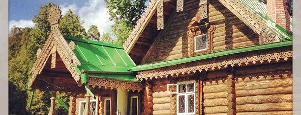 Музей-заповедник «Абрамцево» is one of moscow museums.