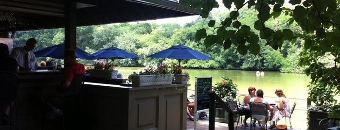 Central Park Boathouse is one of Best Outdoor Eating / Drink Spots.