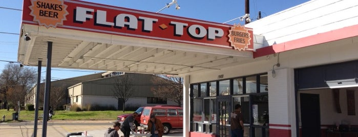Flat Top Burger Shop is one of Burgers in ATX.