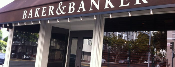 Baker & Banker is one of SF to-do.