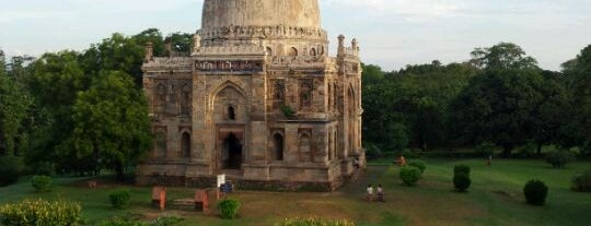 Lodhi Gardens is one of Top 10 favorites places in New Delhi, India.