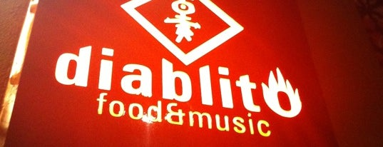 diablito food&music is one of Muy Recomendable Comer.