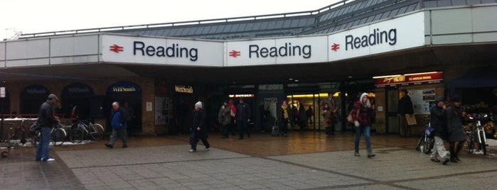Reading Railway Station (RDG) is one of Railway Stations in UK.