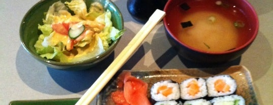 Simon Sushi is one of Guide to Toronto's GEMS!.