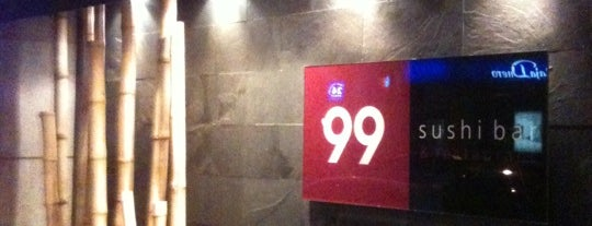 99 Sushi Bar is one of Restaurantes Japoneses Madrid.