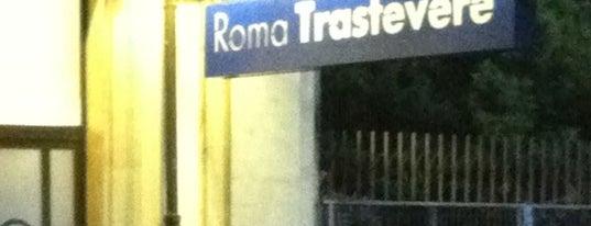 Stazione Roma Trastevere is one of Muoversi a Roma.