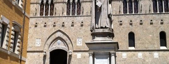 Piazza Salimbeni is one of 36 hours in...Siena.