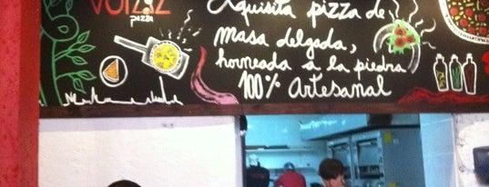 Voraz Pizza is one of Best Pizzas In Santiago.