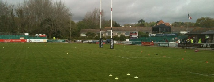 The Mennaye Field is one of UK & Ireland Pro Rugby Grounds.